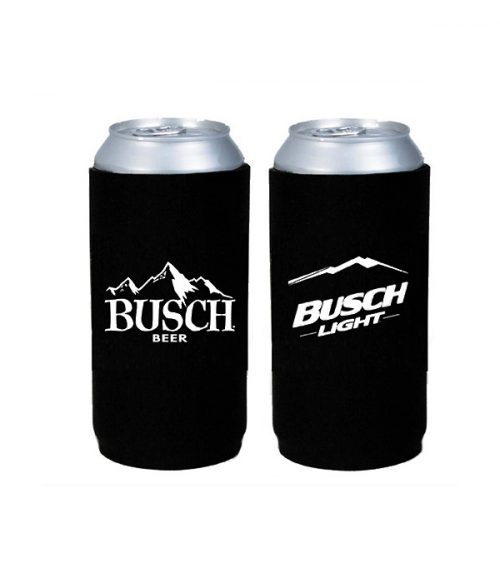 5bf4dc5a Busch 25oz Double Sided Fold Coolie. $3.00. logo_footer. logo_footer. THE BEER  GEAR STORE