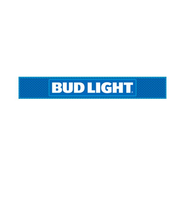 Bud Light Retro Logo Bar Mat