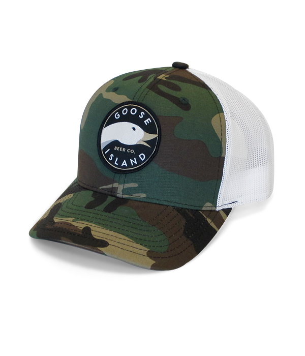 Goose Island Camouflage Mesh Back Hat - The Beer Gear StoreThe Beer Gear  Store d893edd127a6