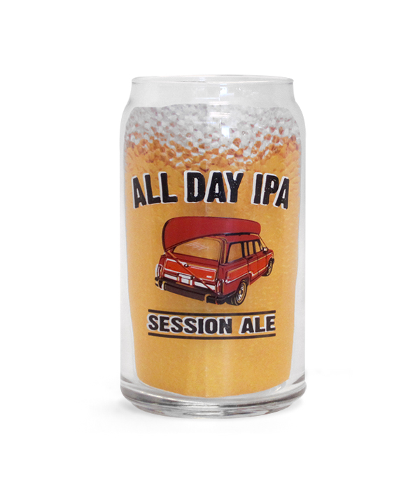 Founders Brewing Co  All Day IPA 16oz Can Glass