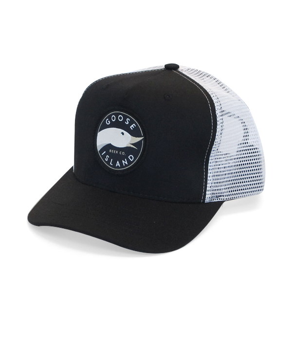 Goose Island Black and White Mesh Back Hat - The Beer Gear StoreThe Beer  Gear Store b80592bae178