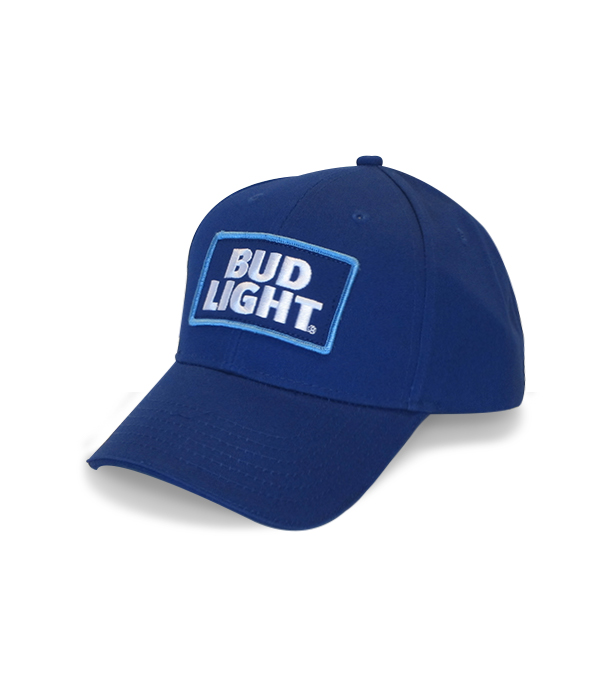 Bud Light Royal Blue Twill Hat - The Beer Gear Store ac2629947771