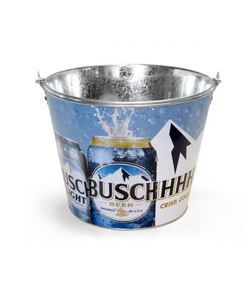 4c94a24b BUSCHHHH Beer Double Sided 5 Quart Metal Bucket