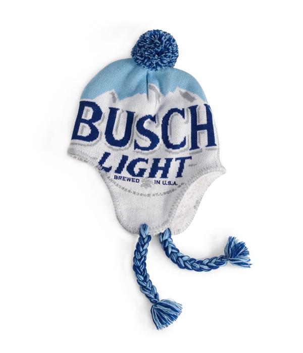 Busch Light Mountain Blue Beanie - The Beer Gear Store 4f5f5b7fdac2