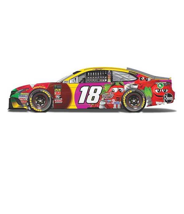 d95a6b3a49d 18 Kyle Busch M M 2018 Charlotte Win 1 24 NASCAR - The Beer Gear Store
