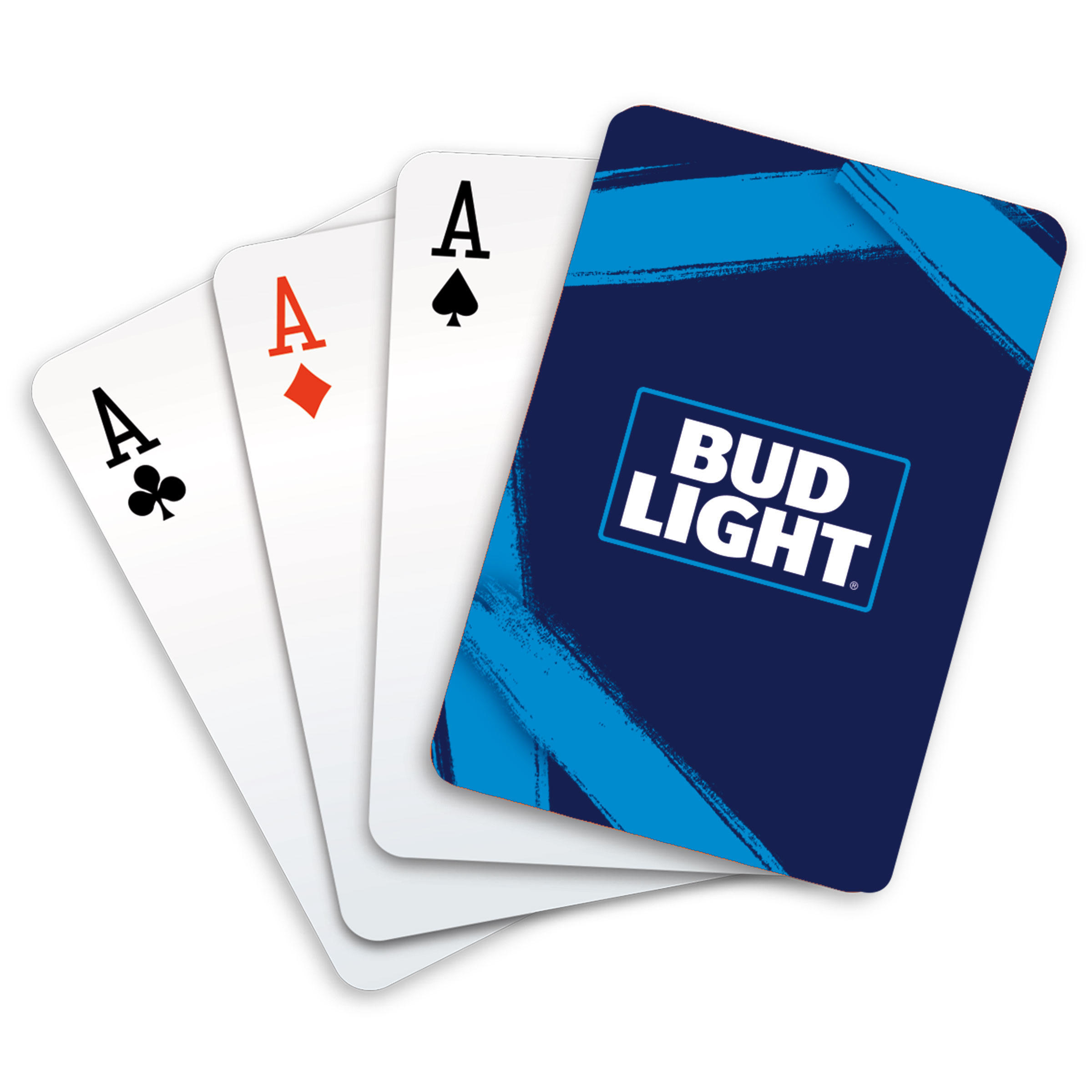 Bud Light Iconic Blue Label Playing Cards