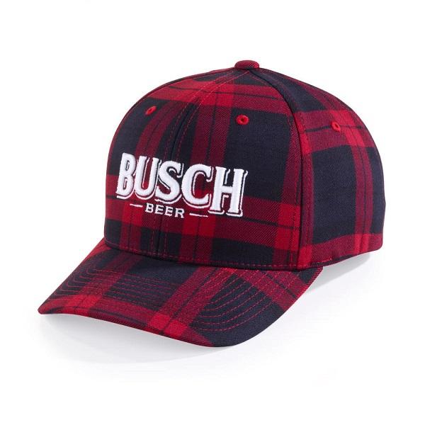Busch Red Flannel Hat