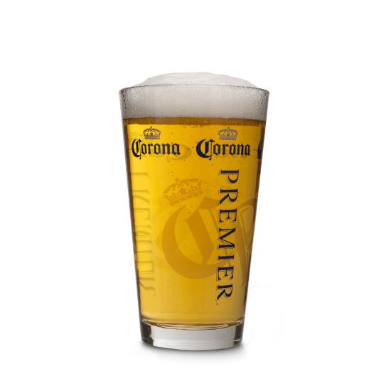 Corona Premier 16oz Pint Glass The Beer Gear Store